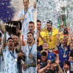 Italia y Argentina se enfrentarán en duelo continental